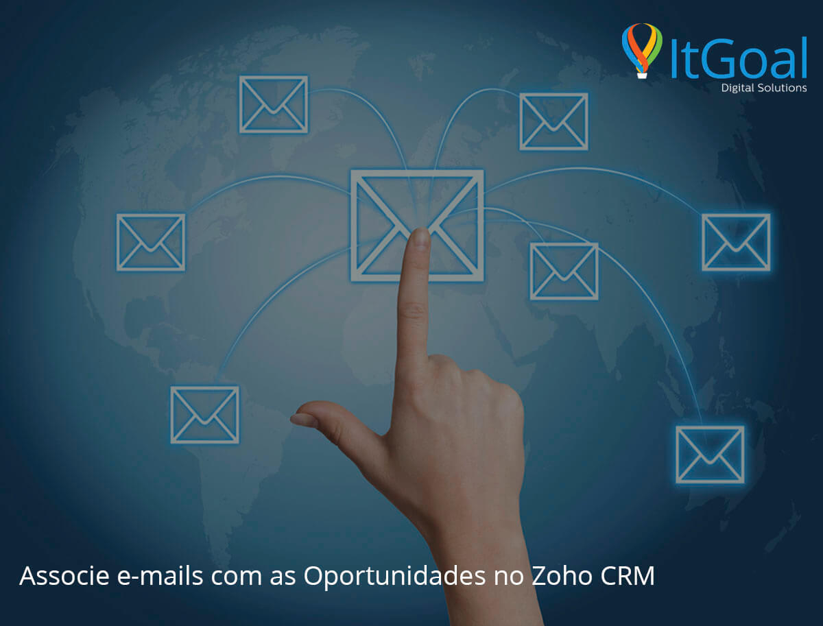 Associe e-mails com as Oportunidades no Zoho CRM