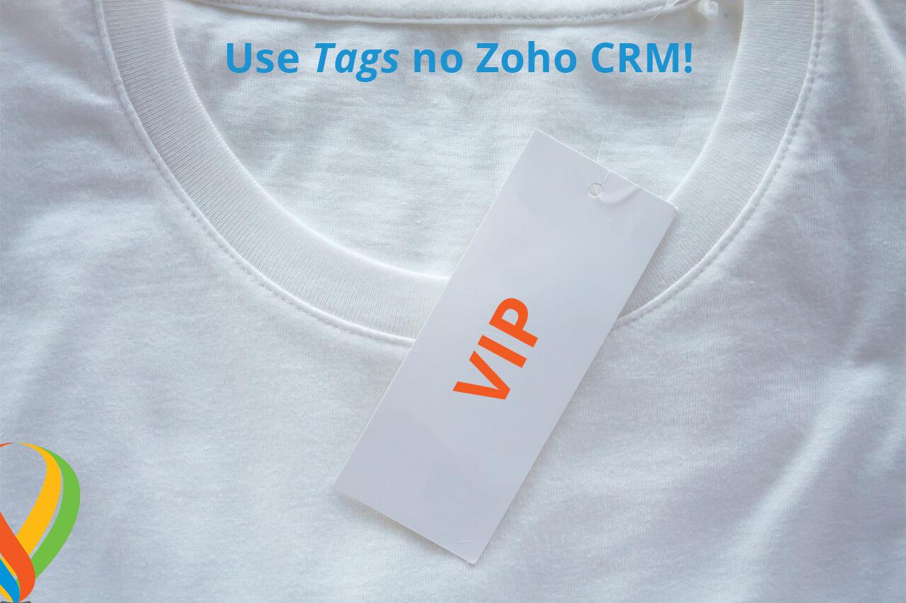 Posso adicionar tags para registros de outra pessoa no Zoho CRM?