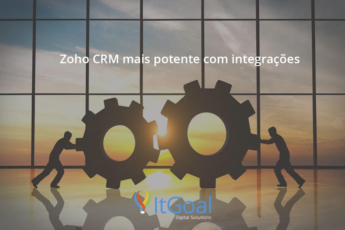 Deixe o Zoho CRM ainda mais potente com integrações.