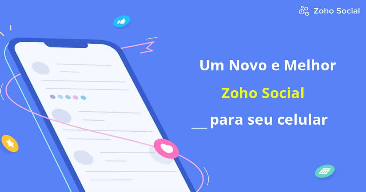 Zoho Social para o seu celular